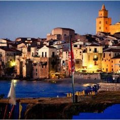 By far the most beautiful city in Sicilia. Cefalu, it's where we're from. Aquia!