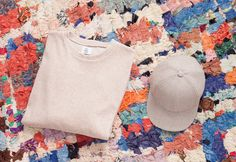 Overthinking Cap and Sweat Shirt nude Team Shirts, Sweat Shirt, Sustainable Fashion, Panama Hat, Cool Outfits, Cap, Nude, Clothes, Baseball Hat