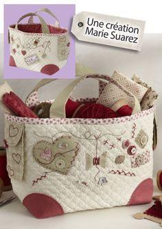 Bolsa para costura o para enseres de bebés