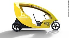 Mellowcabs is a South African startup that is developing electric three-wheeled vehicles for urban commuters in need of micro transport. Electric Car Charger, Tricycle Bike, Power Cars, Car Wheels, Fast Cars, Transportation, African, Design, South Africa