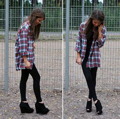 how to wear an oversized t shirt with leggings