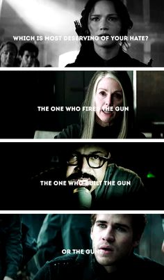 THE ONE. WHO FIRED. THE GUN. Aaaaaaargh Coin doesn't get ENOUGH hate. (And Gale wasn't the gun because he wasn't even involved in that attack)