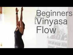 Just tried this 30 min beginner yoga class! Great introduction to Vinyasa but might not be so challenging for those of us who have done a few Vinyasa classes before. Still, good for basics!