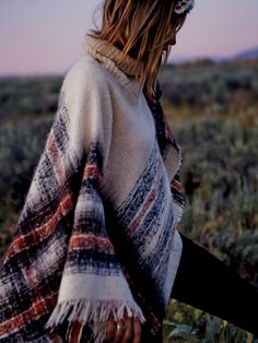 Free People Legends Poncho at Free People Clothing Boutique