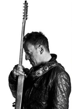 Bruce Springsteen by Frank Ockenfels