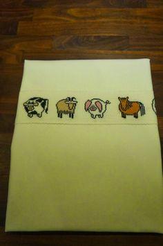 Nabamu Design: Bondegårdernes dyr med hvid betræk