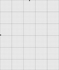 Blank Cross Stitch Graph Paper