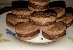 Biscoito recheado de chocolate dukan