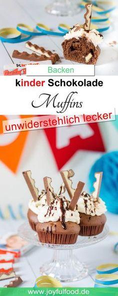 Kinderschokolade Muffins