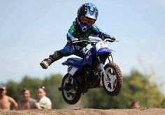 This'll be my Son one day. ✨ #minirider #pitbike #motocross