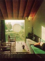 Weiter, offener Ausblick ins Grüne. Da kann man die Gedanken schweifen lassen - und ganz neue Sichtweisen finden.
