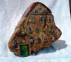 Malba na kameny - malování na zeď