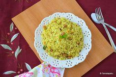 Coconut-Mint Rice ~ Tamalapaku