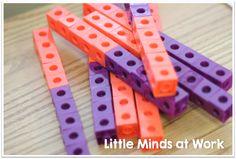 Little Minds at Work: Ways to Make Ten! {freebie PACKED} Kindergarten Centers, Math Centers, Making Ten, Packing, Mindfulness, Curriculum, Teaching Ideas, School Ideas, Teacher