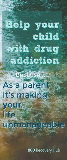 This is so important. When your child is struggling with addiction, as a parent, you are getting sick from the disease too. Coping skills are needed.