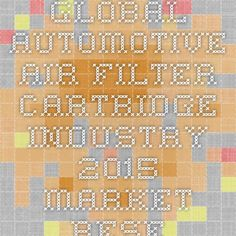 Global Automotive Air Filter Cartridge Industry 2015 Market Research Report Now available at iData Insights | iData Insights