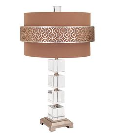 Love this Mitchell Crystal Table Lamp on #zulily! #zulilyfinds
