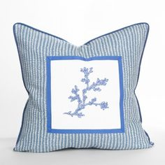 Point Dume Pillow - Malibu Collection | Beach Pillow | Coastal Pillow