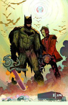 All Star Batman #1 (2016) Variant Cover by John Romita Jr. and Danny Miki