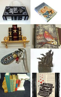 All about books! by Margie Hillebrecht on Etsy--Pinned with TreasuryPin.com