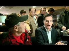 """Back in December 2011 during a campaign stop in New Hampshire, Mitt Romney decided to drop by Vietnam War veteran Bob Garon's breakfast table for a quick photo-op. What Romney didn't realize is that Garon was sitting with his husband, whom he had married just a few months earlier.     What followed might be the single greatest """"oblivious Romney"""" moment of the entire campaign. Enjoy."""