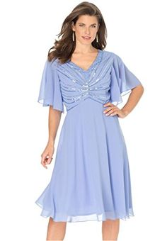 Fashion Bug Womens Plus Size Beaded Dresses www.fashionbug.us #PlusSize #FashionBug