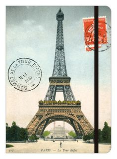 Cavallini Eiffel Tower A5 Notebook (Cuaderno de viaje)