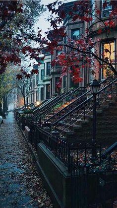 Cozy neighbourhood - Autumn vibes