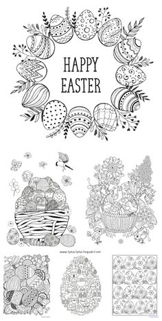 "<em class=short_underline> </em> We have a brand new set of <strong> Easter Egg Coloring </strong> printables. These are great for adults who like to color as well as children. The idea behind "" <em class=short_underline> Just Color! </em> "" is simple ~ theme packs all focused around coloring. The coloring pages are all in one download to make it easier to download and print all at once, in case you have coloring monsters like I do! If you want to make a mini coloring boo..."