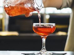 Walk on the Boulevard: 1 oz. bourbon 1 oz. Aperol 3/4 oz. crème de cassis 1/2 oz. fresh lemon juice Tools: mixing glass, barspoon, strainer Glass: cordial or small coupe Garnish: lemon twist  Combine all ingredients in a mixing glass and stir with ice. Strain into a chilled glass and garnish.