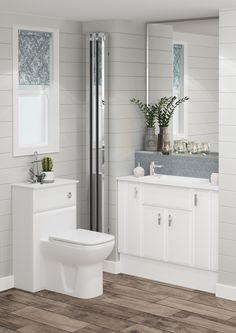 The Milan Saponetta door style has a unique design which is perfect for creating a stunning contemporary bathroom. Combined with neutral tones it creates a clean and relaxing bathroom. Relaxing Bathroom, Cloaks, Traditional Looks, Simple Colors, Neutral Tones, Bathroom Furniture, Contemporary, Modern, Countertops