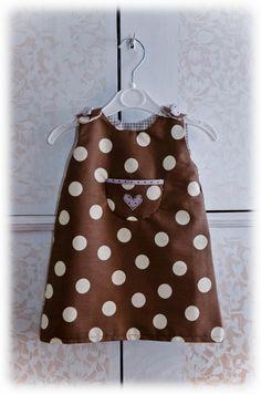 Vestito bimba DIY con link tutorial / baby girl dress diy