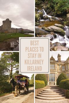 Looking for the best places to stay in Killarney, Ireland? Here you'll find the top accommodation in Killarney - from cost effective hostels to luxury lodges! As voted by those in the know...