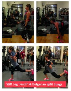 I love these two exercises for working glutes! Try 3-4 sets of 15 reps each! healthy-simple-recipes.com