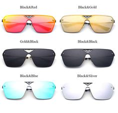 332d9197b40 Fashion Rimless Square Sunglasses Men 2018 · Mirrored SunglassesSunglasses  WomenPolarized SunglassesSquareBranding DesignEyewearColorsModelsLenses