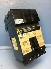 Square D I-Line FA340301021 30A Circuit Breaker w Shunt 480V Type FA 30 Amp HACR. See more pictures details at http://ift.tt/2gj3fAt
