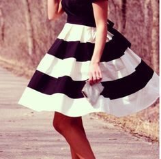 #coasttocoastchallenge | Structured  Gasp! Every girl needs a full skirt like this.