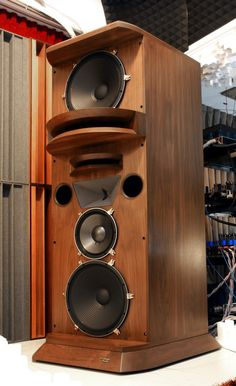 Loudspeakers, home use ? Pro Audio Speakers, High End Speakers, Audiophile Speakers, Horn Speakers, Diy Speakers, High End Audio, Hifi Audio, Built In Speakers, Cassette Vhs