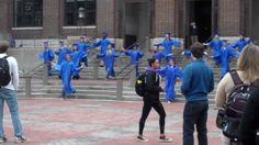 "University of Michigan UM Graduation Flash Mob to Rusted Root's ""Send Me..."