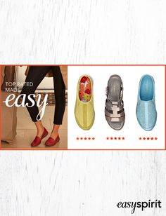 Can't decide? See our top rated styles, loved for their comfort and versatile style!