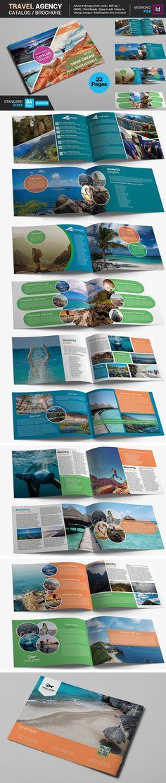 Travel Brochure Flyer Set-V487 Brochure Templates Pinterest - travel brochure templates