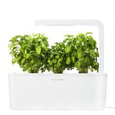 Indoor Garden Jardin intérieur CLICK AND GROW Smart Herb Garden Blanc chez Boulanger