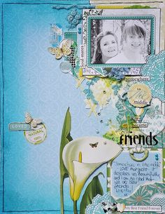 Friends by Emma Trout: Webster's Pages 'Best Friends' ♥ hhh♥