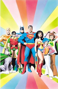 SUPER FRIENDS! by Alex Ross.