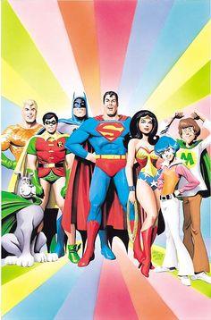 SUPER FRIENDS! by Alex Ross.