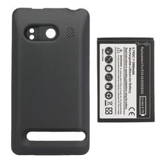 3500mah Rechargeable Commercial Battery + Case For HTC EVO 4G 6200