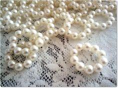 Porta guardanapos confeccionados com pérolas para casamentos e festas em geral. Quantidade mínima: 30 unidades R$1,20