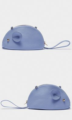 Sophisticated, functional and undoubtedly cute. Detach the shoulder strap and wear this bag as a clutch, using the tail as a handle.