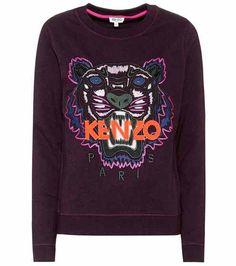 Embroidered cotton sweatshirt | Kenzo