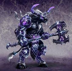 Statistics - Minotaur / Minotaur Guard - The Dungeon units - Might & Magic: Heroes VI - Shades of Darkness - Game Guide and Walkthrough